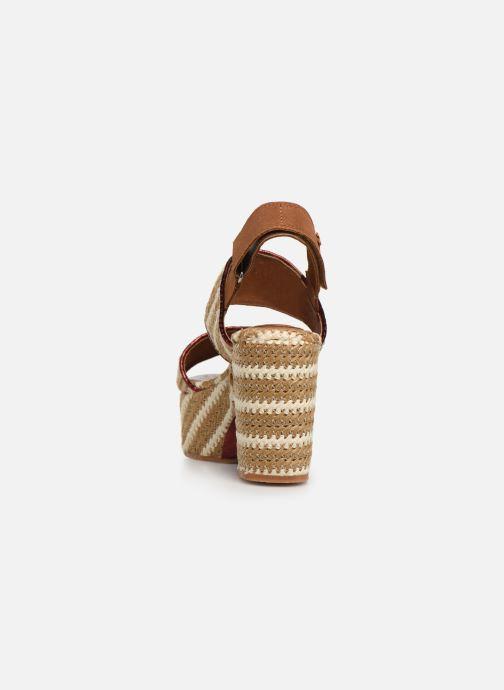 Sandales et nu-pieds Gioseppo 44090 Beige vue droite