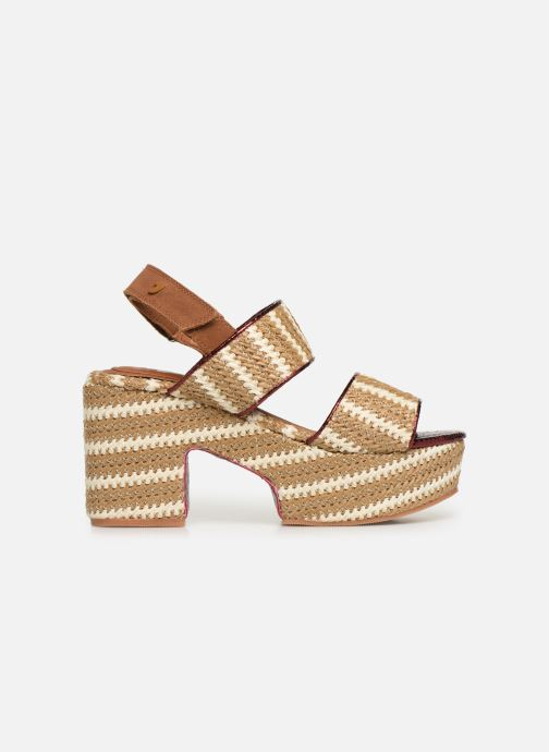 Sandales et nu-pieds Gioseppo 44090 Beige vue derrière