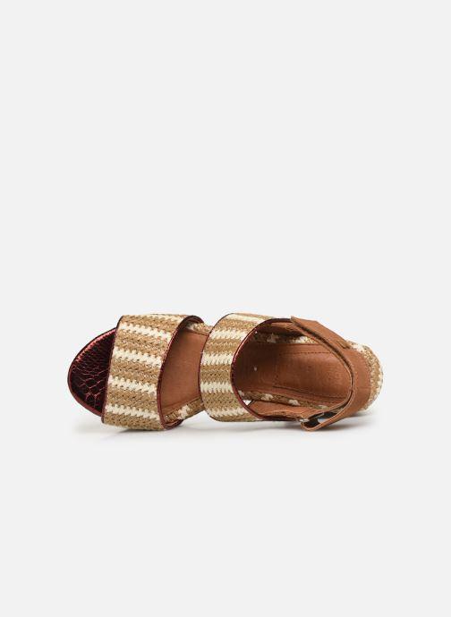 Sandales et nu-pieds Gioseppo 44090 Beige vue gauche