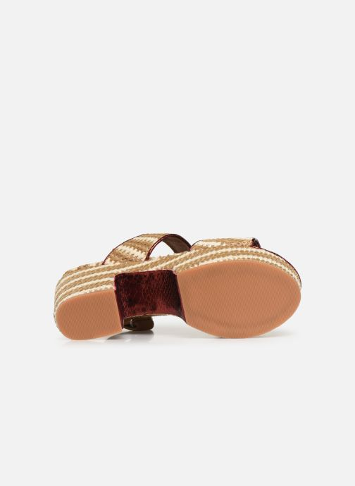 Sandales et nu-pieds Gioseppo 44090 Beige vue haut
