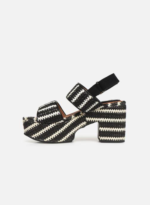 Sandales et nu-pieds Gioseppo 44090 Noir vue face