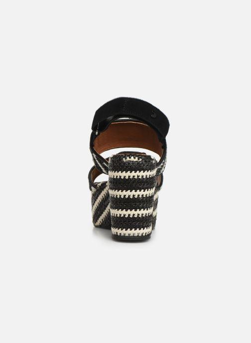 Sandales et nu-pieds Gioseppo 44090 Noir vue droite