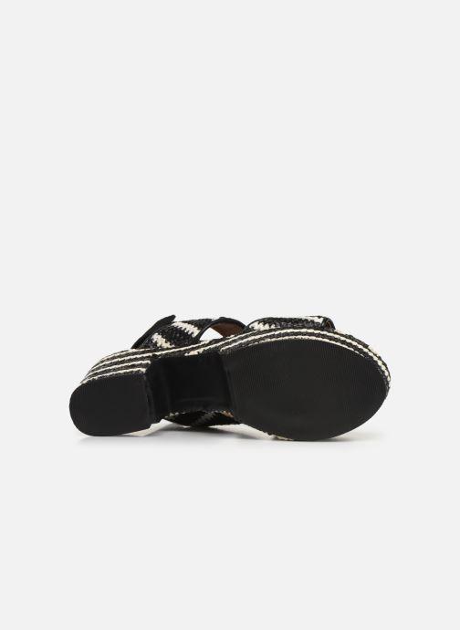 Sandales et nu-pieds Gioseppo 44090 Noir vue haut