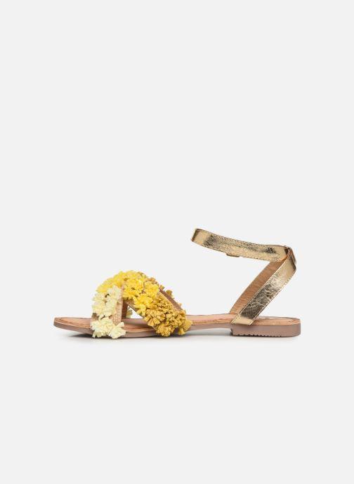 Sandales et nu-pieds Gioseppo 44121 Or et bronze vue face