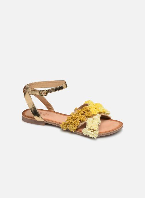 Sandales et nu-pieds Gioseppo 44121 Or et bronze vue détail/paire