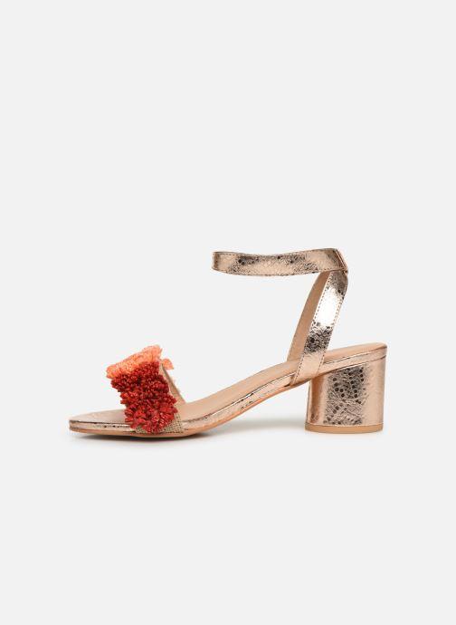Sandales et nu-pieds Gioseppo 44123 Or et bronze vue face