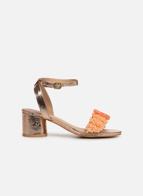 Sandales et nu-pieds Gioseppo 44123 Or et bronze vue derrière