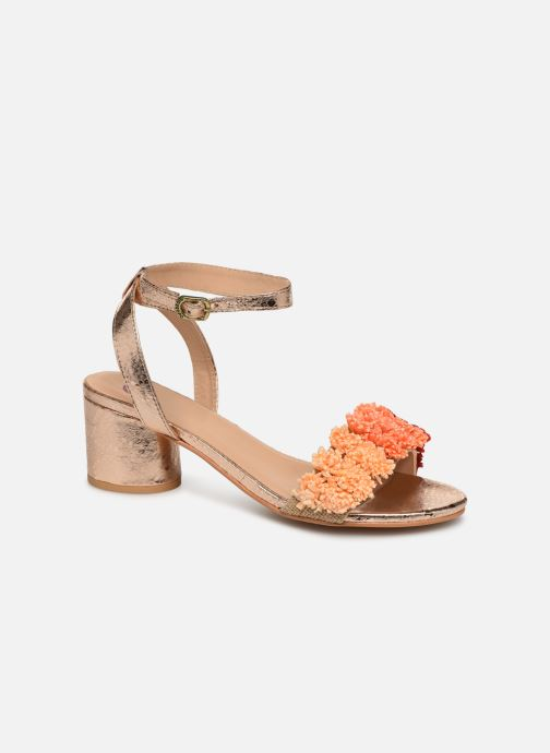 Sandales et nu-pieds Gioseppo 44123 Or et bronze vue détail/paire