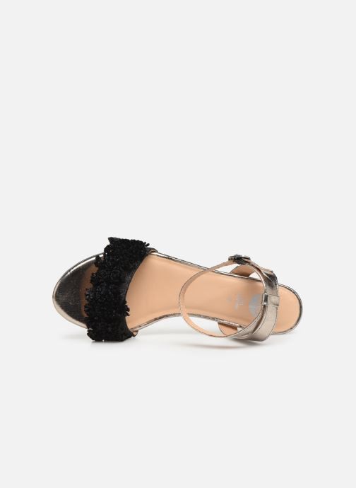Sandals Gioseppo 44123 Black view from the left