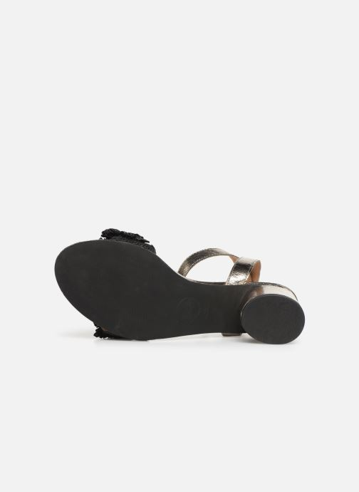 Sandals Gioseppo 44123 Black view from above