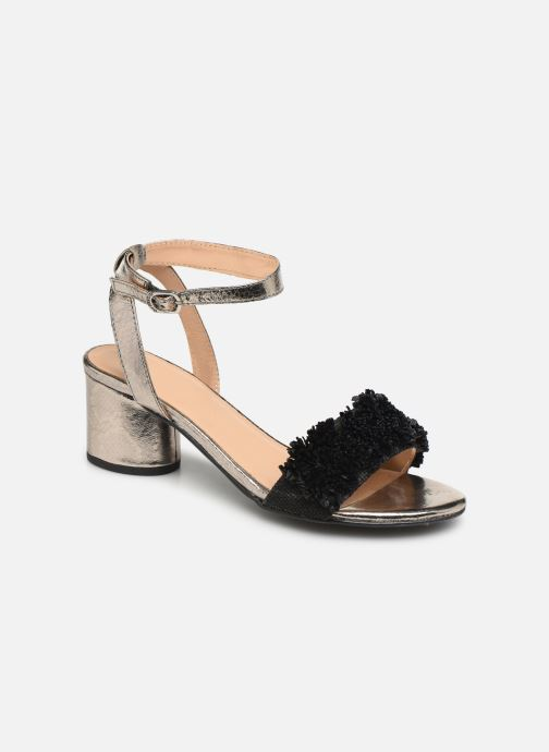 Sandals Gioseppo 44123 Black detailed view/ Pair view