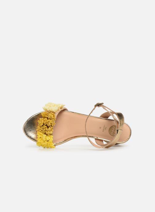 Sandali e scarpe aperte Gioseppo 44123 Oro e bronzo immagine sinistra