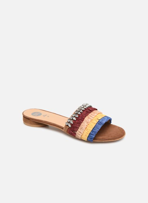 Wedges Gioseppo 44192 Multicolor detail