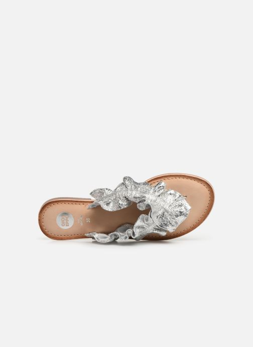 Wedges Gioseppo 44764 Zilver links