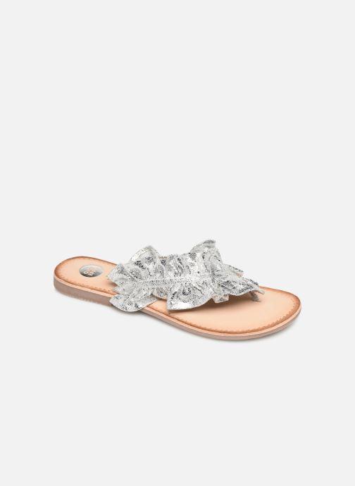 Wedges Gioseppo 44764 Zilver detail