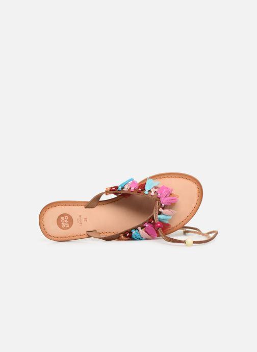 Sandales et nu-pieds Gioseppo 44767 Marron vue gauche