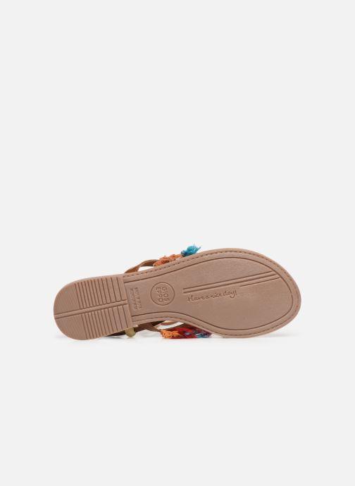 Sandales et nu-pieds Gioseppo 44767 Marron vue haut