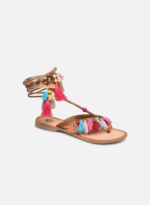 Sandales et nu-pieds Gioseppo 44767 Marron vue détail/paire