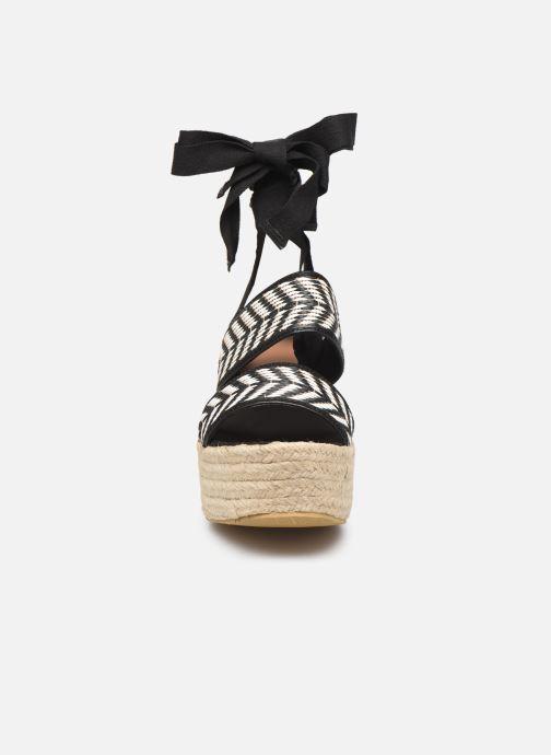 Sandalen Gioseppo 44782 schwarz schuhe getragen