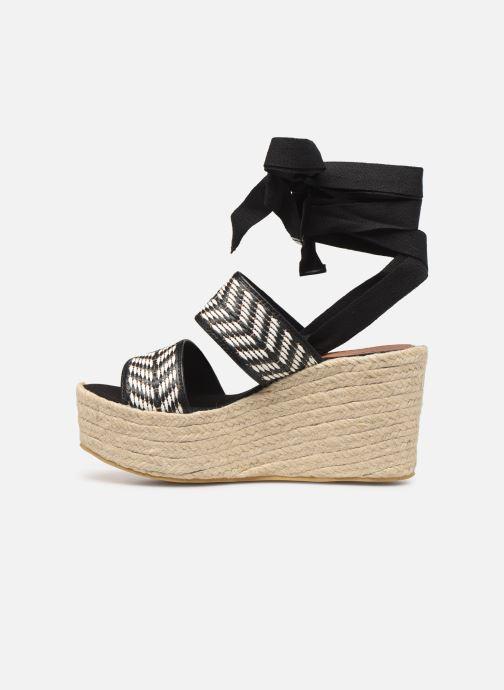 Sandales et nu-pieds Gioseppo 44782 Noir vue face