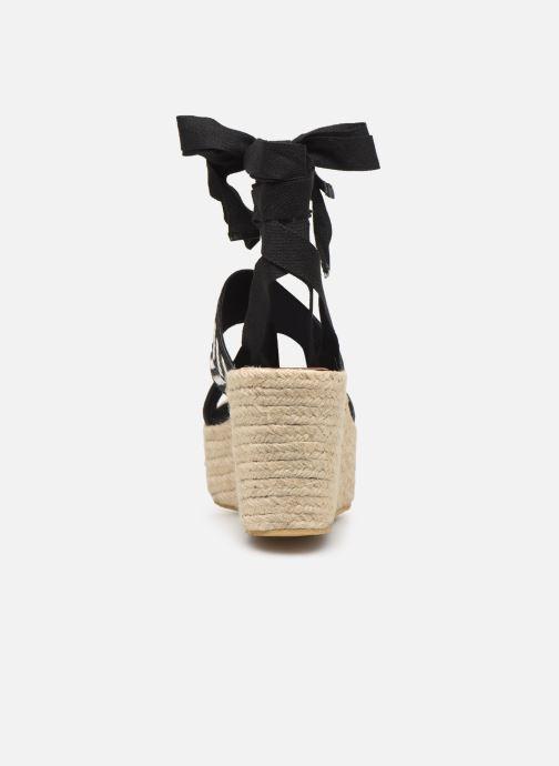 Sandales et nu-pieds Gioseppo 44782 Noir vue droite