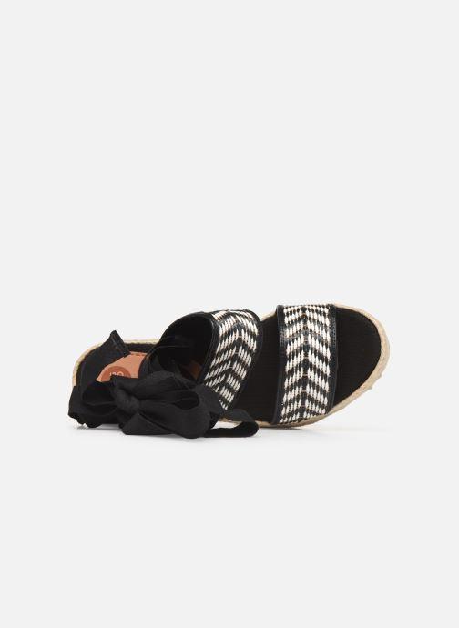 Sandalen Gioseppo 44782 schwarz ansicht von links