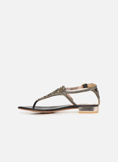 Sandalen Gioseppo 44851 schwarz ansicht von vorne