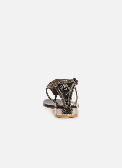 Sandales et nu-pieds Gioseppo 44851 Noir vue droite