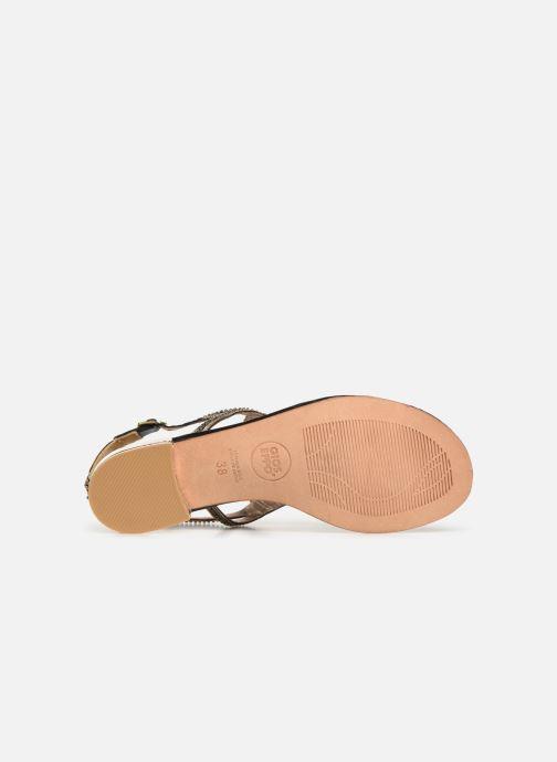 Sandales et nu-pieds Gioseppo 44851 Noir vue haut