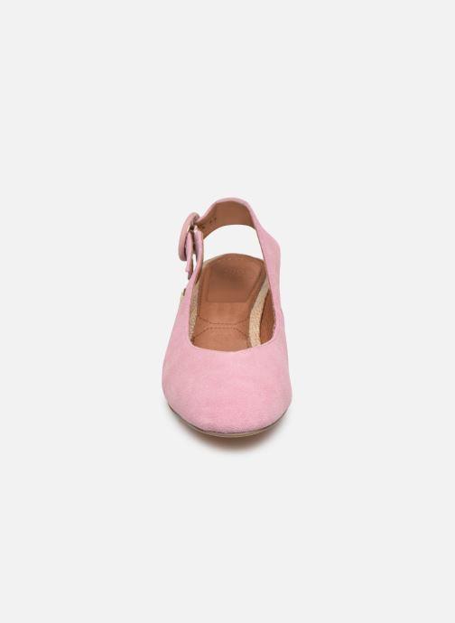 Escarpins Gioseppo 44890 Rose vue portées chaussures