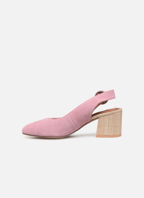 Zapatos de tacón Gioseppo 44890 Rosa vista de frente