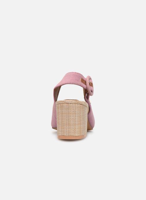 Zapatos de tacón Gioseppo 44890 Rosa vista lateral derecha