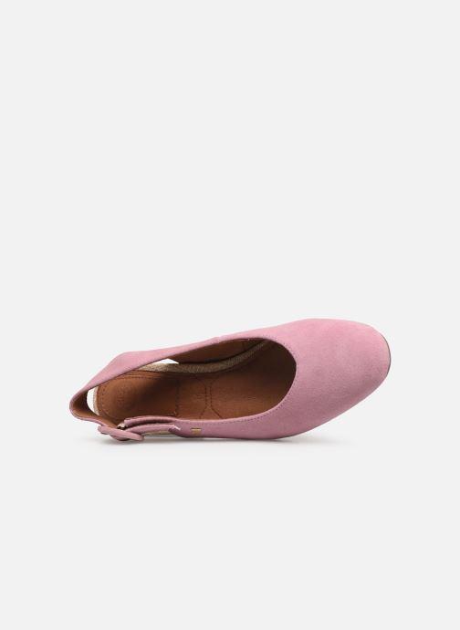 Zapatos de tacón Gioseppo 44890 Rosa vista lateral izquierda