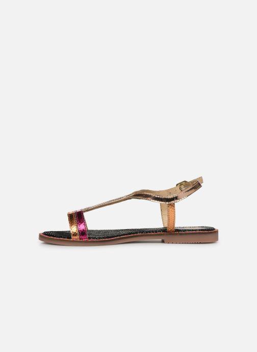 Sandales et nu-pieds Gioseppo 44927 Or et bronze vue face