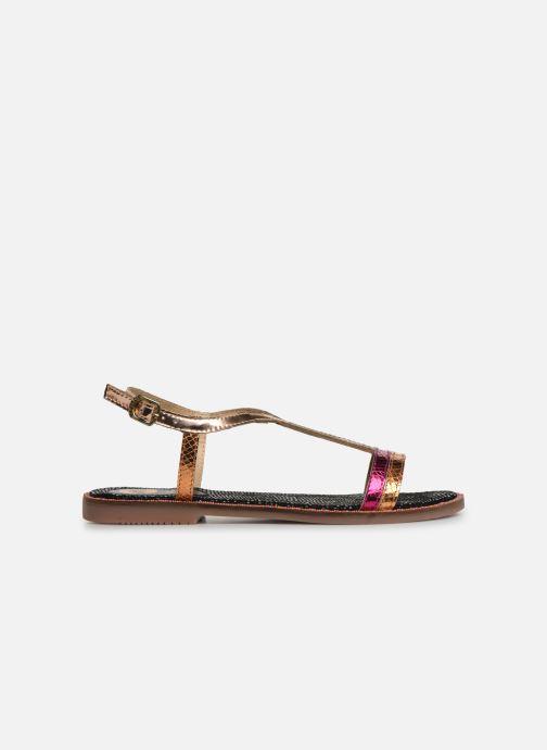 Sandales et nu-pieds Gioseppo 44927 Or et bronze vue derrière