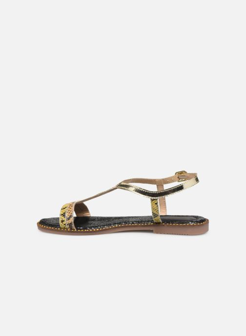Sandals Gioseppo 44927 Bronze and Gold front view