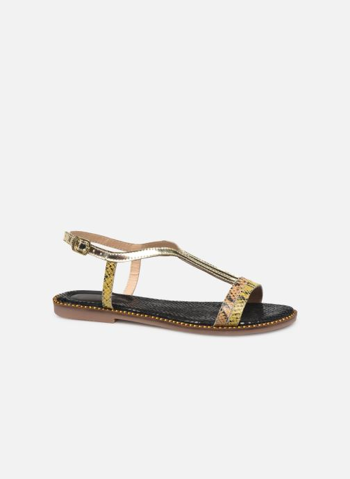 Sandals Gioseppo 44927 Bronze and Gold back view