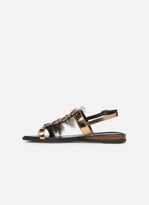 Sandali e scarpe aperte Gioseppo 45279 Oro e bronzo immagine frontale