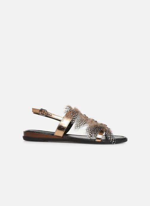 Sandali e scarpe aperte Gioseppo 45279 Oro e bronzo immagine posteriore