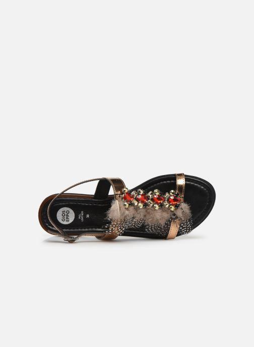 Sandali e scarpe aperte Gioseppo 45279 Oro e bronzo immagine sinistra