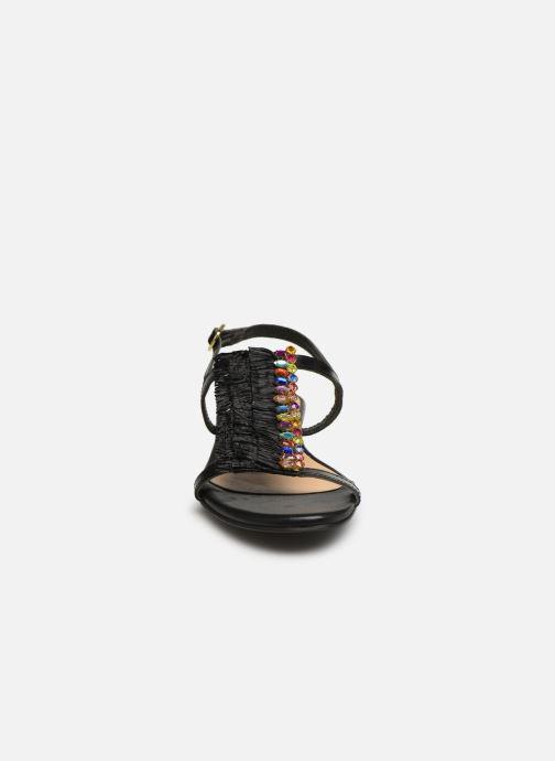 Sandales et nu-pieds Gioseppo 45286 Noir vue portées chaussures