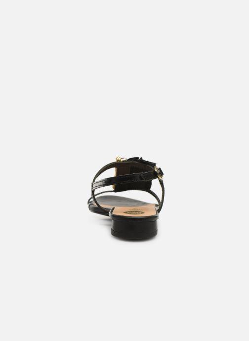 Sandales et nu-pieds Gioseppo 45286 Noir vue droite
