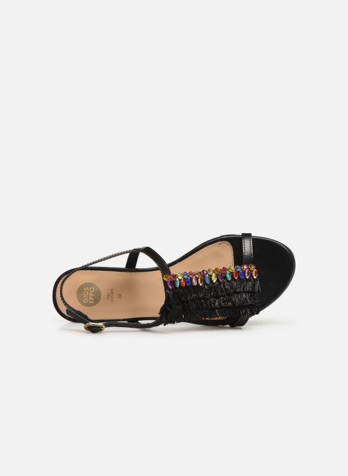 Sandales et nu-pieds Gioseppo 45286 Noir vue gauche