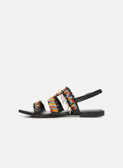 Sandales et nu-pieds Gioseppo 45297 Noir vue face