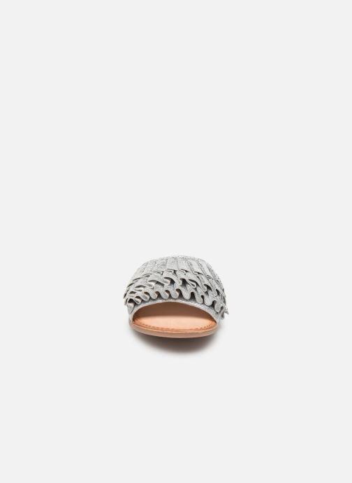 Zoccoli Gioseppo 45300 Argento modello indossato