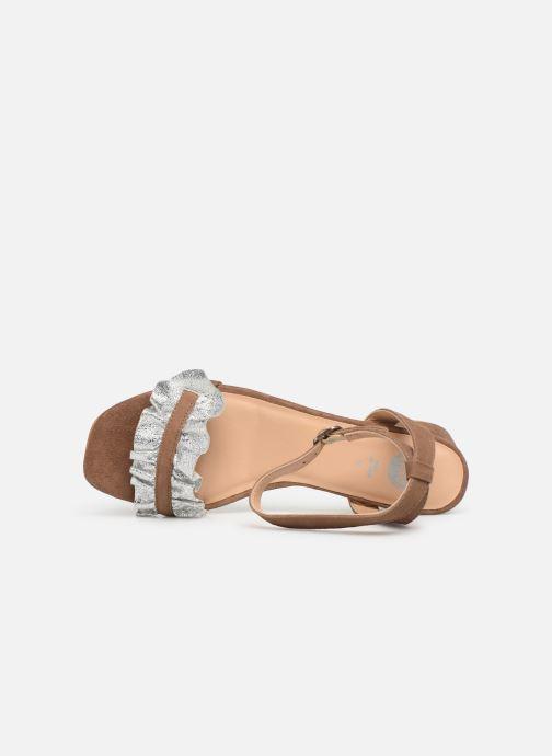 Sandales et nu-pieds Gioseppo 45301 Marron vue gauche