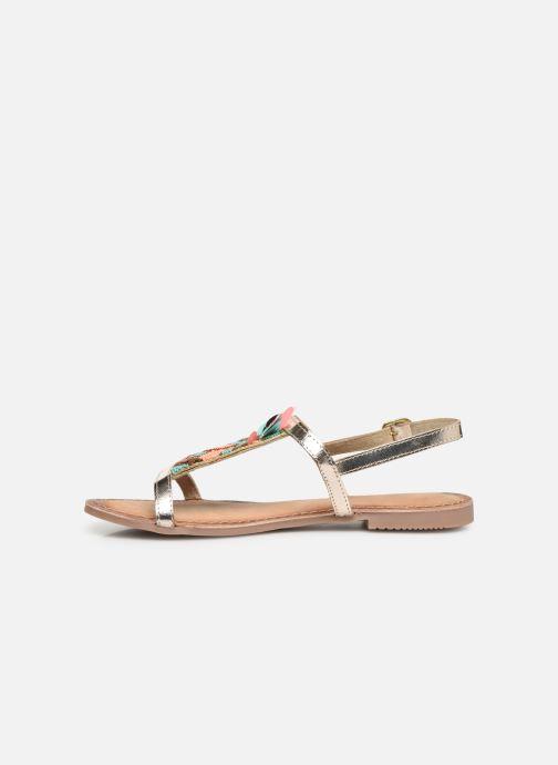 Sandales et nu-pieds Gioseppo 45306 Or et bronze vue face