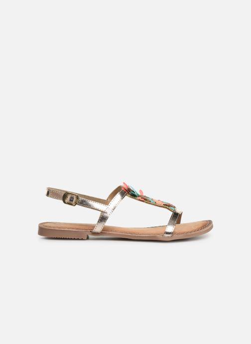 Sandales et nu-pieds Gioseppo 45306 Or et bronze vue derrière