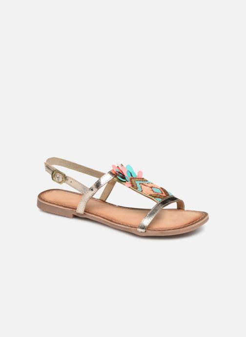 Sandales et nu-pieds Gioseppo 45306 Or et bronze vue détail/paire