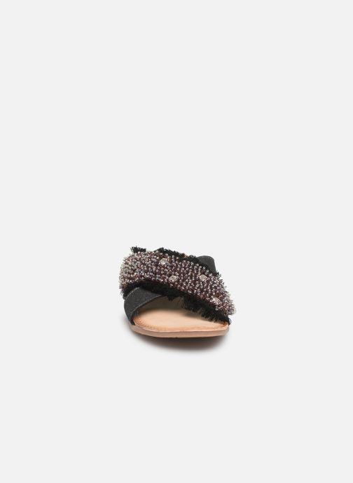 Clogs & Pantoletten Gioseppo 45307 silber schuhe getragen